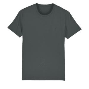 Sustainable mens t-shirt Dakota dark grey